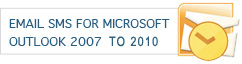 EmailSMS for Microsoft 2007 to 2010