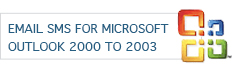 EmailSMS for Microsoft 2000 to 2003